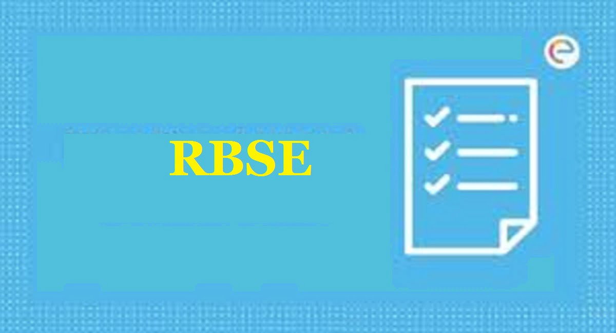 RBSE 12th Model Question Paper 2020 Raj XII Blueprint 2020