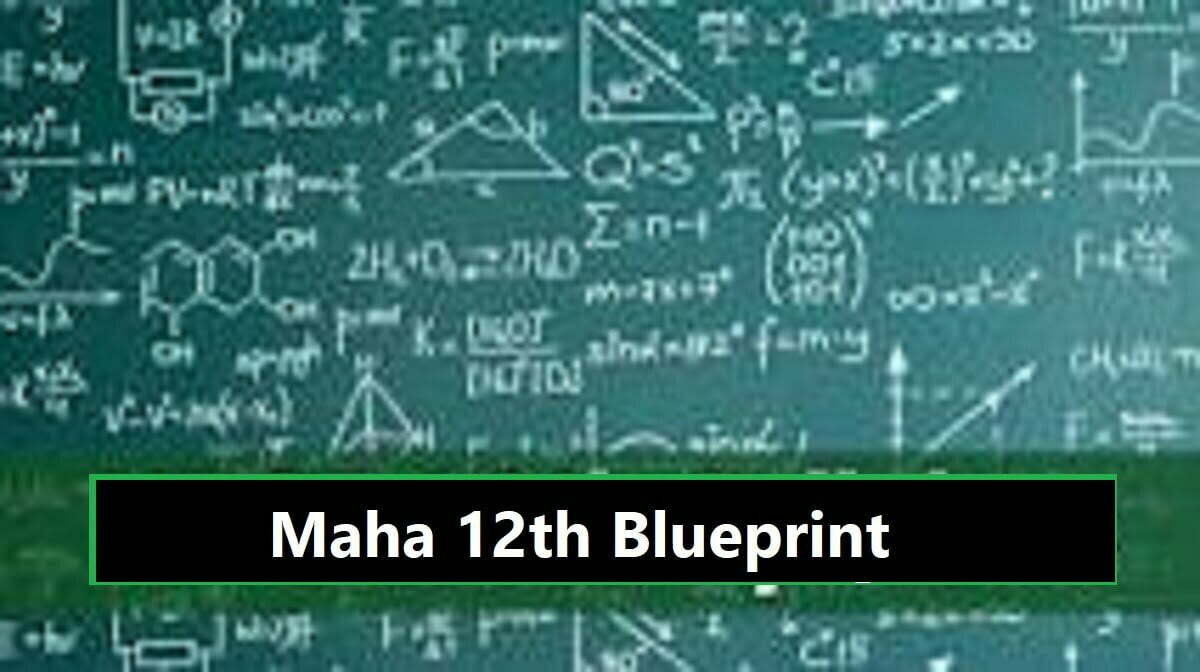 Maha 12 STD Important Model Question Paper 2020